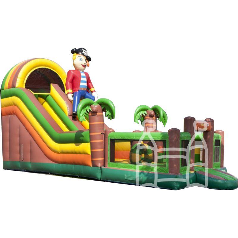 Speel-Glijbaan Piraat 12x4m