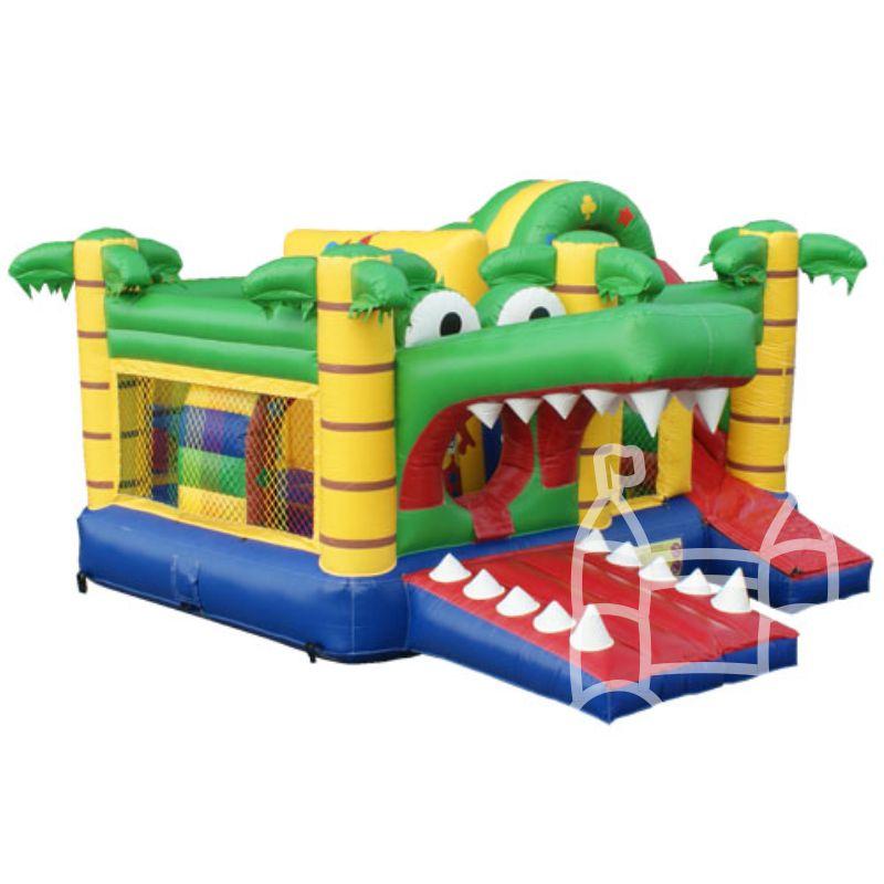 Speelkussen Multiplay Krokodil 5x5m huren